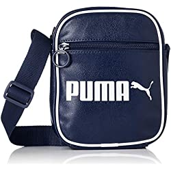 PUMA Campus Portable Retro Bandolera, Adultos Unisex, Peacoat, OSFA