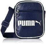 Puma Unisex- Erwachsene Campus Portable Retro umhängetasche, Peacoat, OSFA