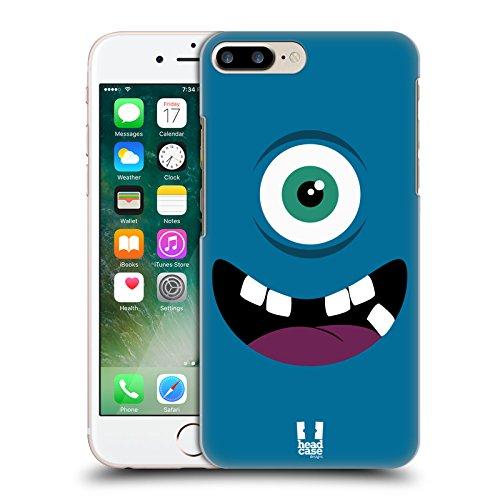 Head Case Designs Grün Fröhlich Monster Ruckseite Hülle für Apple iPhone 3G / 3GS Blau