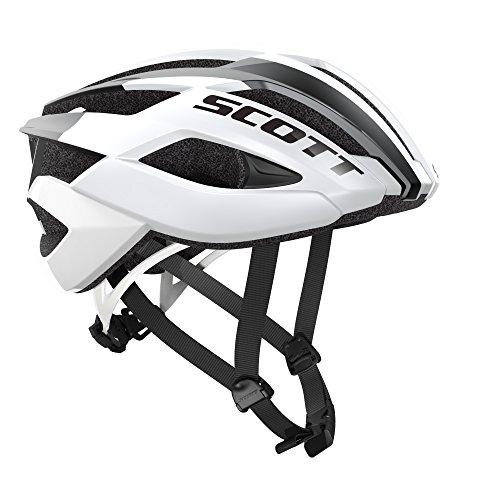 Scott Arx Rennrad Fahrrad Helm weiß 2018: Größe: M (55-59cm)