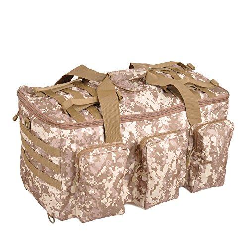 BM Trekking Outdoor Zaino multifunzionale impermeabile grande capacità di uomini e donne borsa borsa all'aperto , jungle camouflage desert camouflage