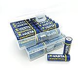 NEMT Flachbox mit 48 x Varta Industrial Mignon AA Batterie Alkaline MN1500 LR06 4006