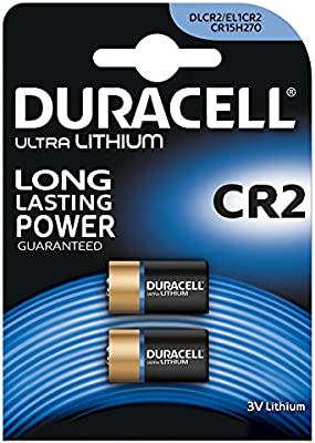 Duracell CBR B2 Ultra - Pack de 2 pilas para cámaras fotográficas
