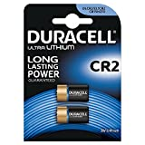 Duracell Specialty Type CR2 Ultra Lithium  Photo Battery, pack of 2