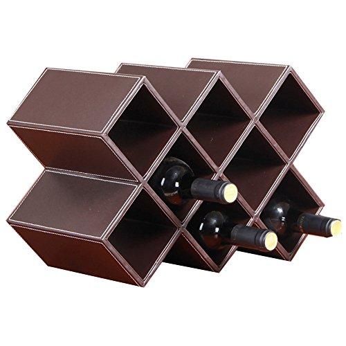 Weinregale Yixin Europäische Dekoration Wein Grid Regal Moderne Einfache Racks Wohnzimmer...