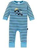 Schiesser Unisex Baby Schlafanzug Strampler Body, Blau (Hellblau 805), 074