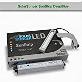 Econlux SolarStinger SunStrip StarterSet 300 B+1x B-Holder - LED Strip 300mm CC/V2 DeepBlue/Driver