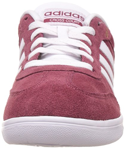 adidas Cross Court, Chaussures de Fitness Homme Rouge - Rot (rot/Weiß/Gold)