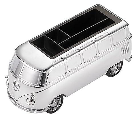 Troika Schreibtischobjekt/Briefbeschwerer VW Bulli 'Forever T1' mit Magnet für Büroklammern