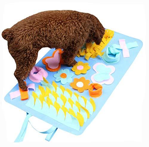 DSGYZQ Hundefutter Pad Hundetraining Matte Haustier Spielzeug Aktivität Decke Haustier Pad Hund Schnüffeln Pad abnehmbare Farbe Multi-Größe,9