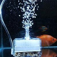 YTCDX Acuario Aire impulsado Bioquímico Esponja Fish Tank Filtro de Esquina Bomba de Oxígeno
