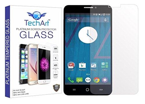 TechArt 9H Hardness Toughened Scratch Proof 2.5D Tempered Glass Screen Protector for Yu Yureka / Yu Yureka Plus
