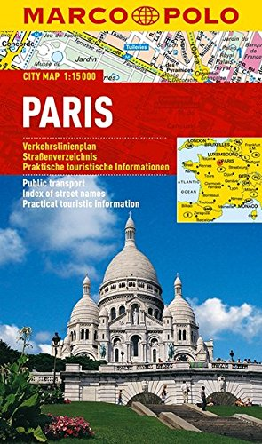 Download MARCO POLO Cityplan Paris 1:15 000 (MARCO POLO Citypläne)