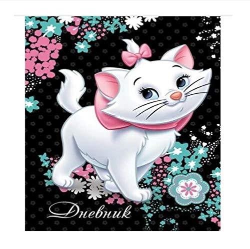 lerei DIY Diamant Strass Kreuzstich Cartoon Cat Kostüm 5D DIY Mosaik, Dekoration, Geschenk Rahmenlose 16X20 Zoll ()