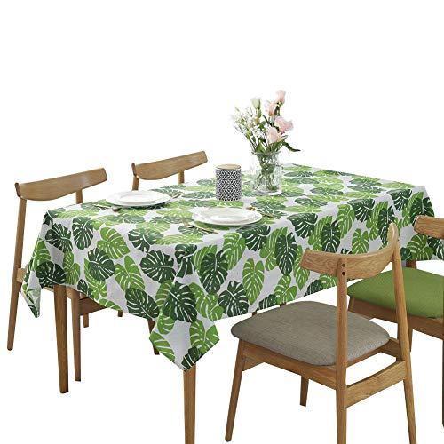 Nappe Rectangle Coton Nappe Verte 140x200cm (55x79)