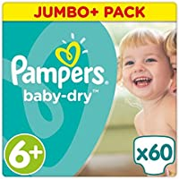 Pampers Baby Taille 6+ JMB + Lot 60couches
