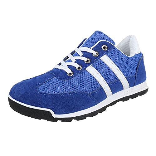 Ital-Design , Sneakers Basses homme Bleu - Bleu