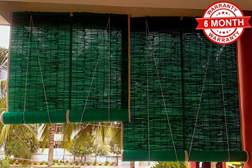 check MRP of bamboo curtains roll up sai praseeda