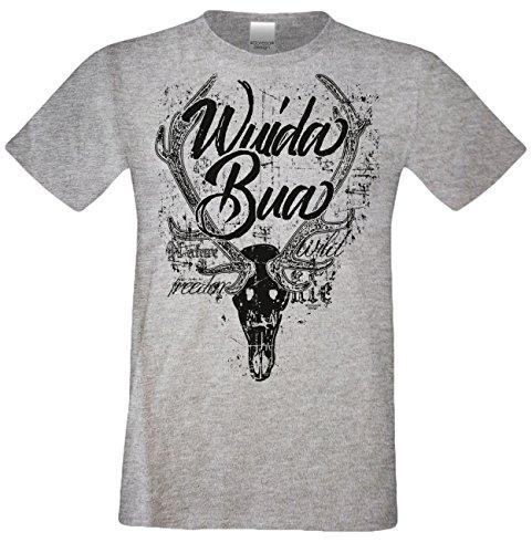 Soreso Design Trachten Herren Kurzarm T-Shirt :-: Wuida Bua :-: Trachtenshirt Freizeitshirt in Verschiedenen Farben