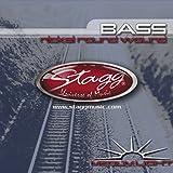 Stagg 057953 Jeu de cordes basse Nickelé