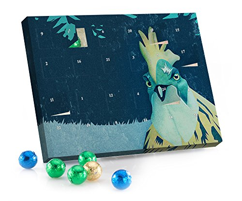 "Adventskalender mit Schokokugeln ""What the Hegg'!"" Comic von Romina Lutz"