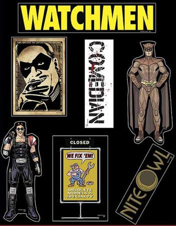 NECA Watchmen Magnete The Comedian & Nite Owl