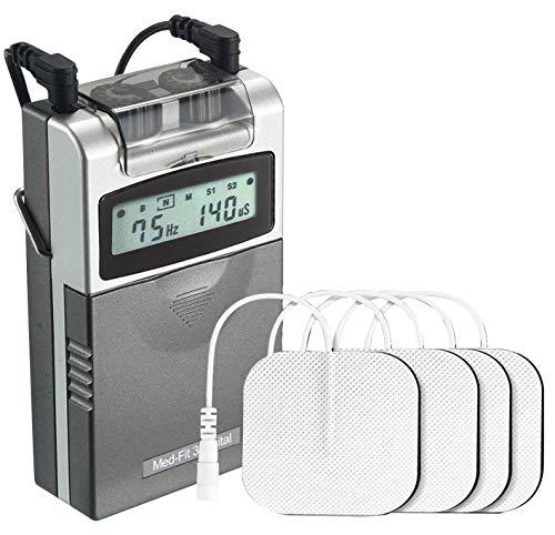 Med-Fit 3 Electrostimulador Máquina TENS