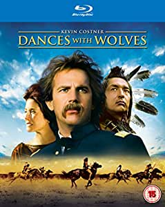 Dances With Wolves [Blu-ray + UV Copy] [1990] [Region Free]