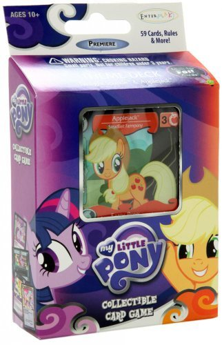 My Little Pony Enterplay Collectible Card Game Applejack Premiere Theme Deck [59 Cards] by My Little Pony