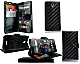 For Alcatel One Touch Pop 4 (5) New Leather Book Wallet