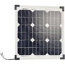 revolt Solarmodule: Mobiles Solarpanel mit monokristallinen Solarzellen, 20 Watt (Mobiles Solarmodul)