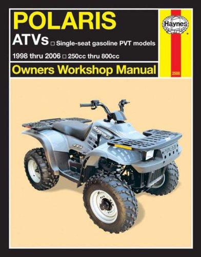 Polaris Atv Owners Manual (Polaris ATVs 1998 Thru 2006: Owners Workshop Manual)
