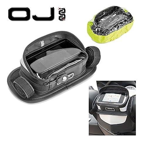 Porte smartphone OJ Case pour piaggio mP3400de guidon moto scooter No Givi