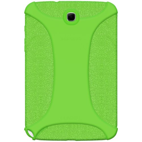 Amzer Exclusive - Custodia in Silicone, per Samsung Galaxy Note GT-N5100/N5110, 8', Colore: Verde