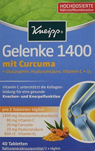 Kneipp Gelenke 1400, 40 Tabletten