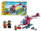Ecoiffier - 3214 - Jeu de construction - Hélicoptère Pompiers