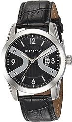Giordano Analog Black Dial Mens Watch 1571-01