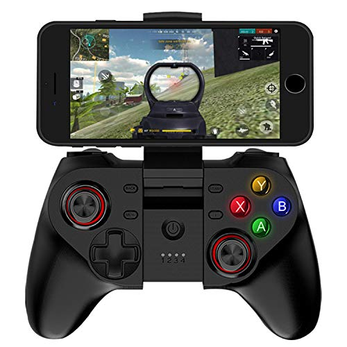 Mobile Game Controller per PUBG Fornite Wireless Key Mapping Telefono Gamepad Joystick per Android iOS iPhone Samsung Galaxy Tablet Supporto per PC Online Azione Shooting Racing Sport No Simulato