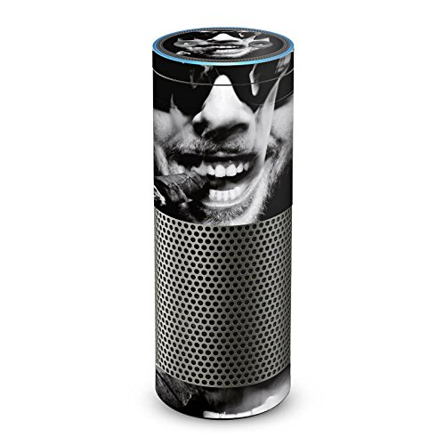 DeinDesign Amazon Echo Plus Folie Skin Sticker aus Vinyl-Folie Oliver Rath Zigarre Sonnenbrille