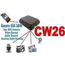 MICROSPIA GSM X009 SPIA AUDIO E VIDEO INTERCETTAZIONE AMBIENTALE CIMICE SPY CAM CW26 (MICRO SD 8 GB INCLUSA)