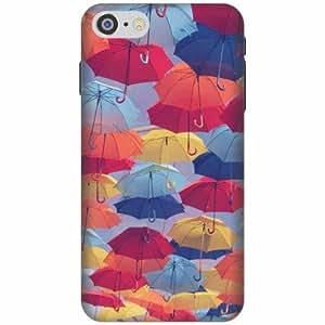 Apple iPhone 7 Printland Back Cover Printed Hard Plastic-Multicolor