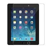 HONGCA iPad 2/ iPad 3/ iPad 4 Gehärtetem Glas Panzersglas Schutzfolie Hartglas Displayschutz für Apple iPad 2/ iPad 3/ iPad 4 Glass Screen Protector Anti-Scratch for iPad 2/3/4