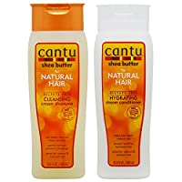 """Cantu Shea Butter Cleansing Shampoo + Hydrating Conditioner 400ml """"Set"""""""