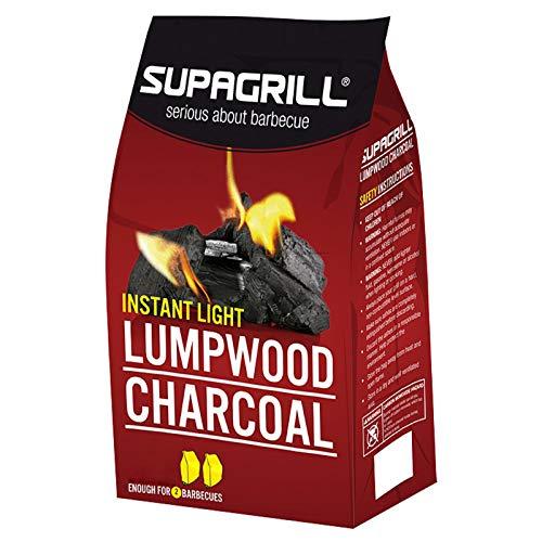 51okiMjjz8L. SS500  - CPL Instant Light Lumpwood Charcoal, 850 g, 2-Piece