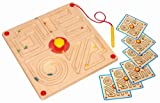 Eduplay Magnetspiel Labyrinth quadratisch mit 6 Vorlagen
