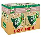 Knorr Soupe Instantanée Cup a Soup Velouté Champignons 3 sachets de 17g - lot de 6 x 51g (18 sachets x 17g)