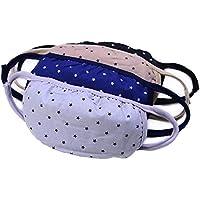 Preisvergleich für Hustar 4PCS Unisex Star Anti Dust Gesicht Mund Maske Cechya Filter Anti-Fog Schutz Mund Cover