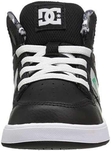 DC  TODDLERS REBOUND SE UL, Baskets pour garçon Black/Green/White