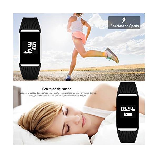 Fitness Tracker QIMAOO K1 Pulsera Actividad Inteligente IP68 Impermeable 9