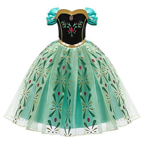 OBEEII Vestido Niña Princesa Disfraz Cosplay